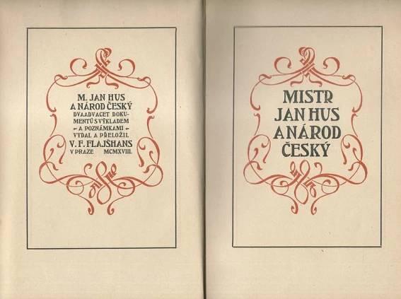 Mistr Jan Hus a národ český